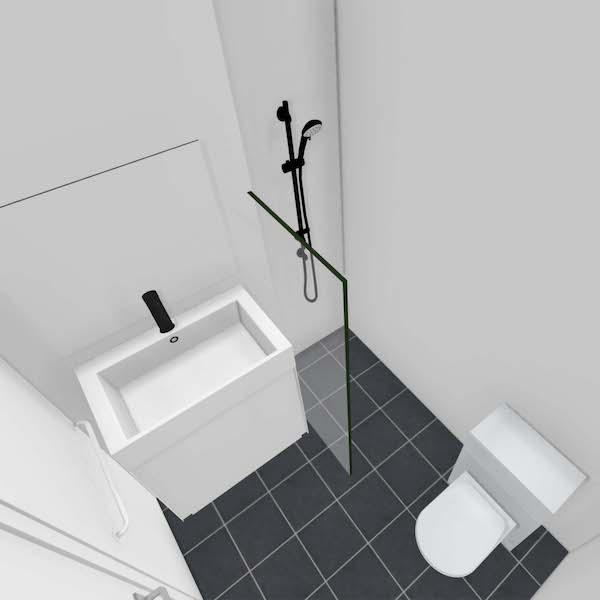 Badkamer appartement De Wester