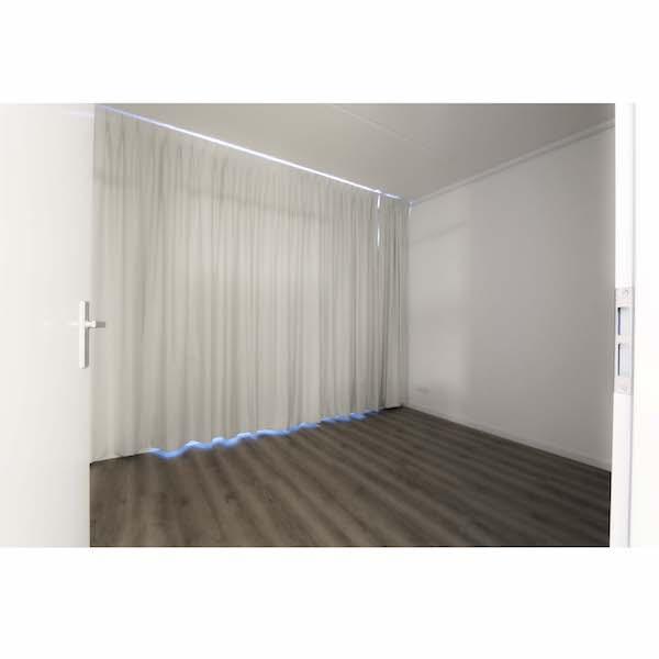 Slaapkamer gestoffeerd appartement Mercuriushof Dr. Schaepmanstraat 143 Assen_2