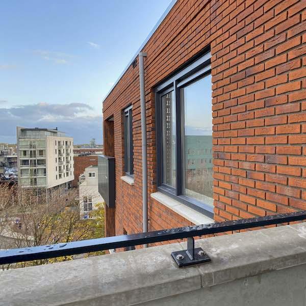 Uitzicht balkon appartement Assen te huur Dr. Schaepmanstraat 143 Assen_1